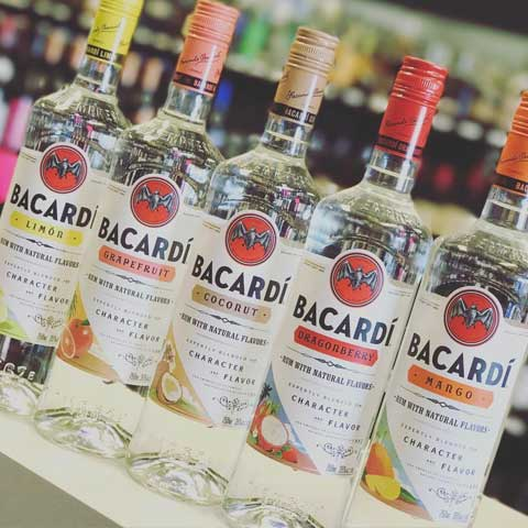 Bicardi Rum Selection